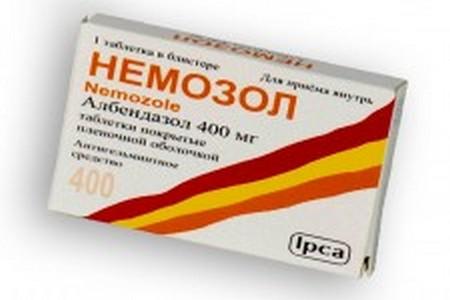 Упаковка препарата Немозол