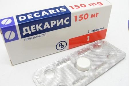 Упаковка средства Декарис