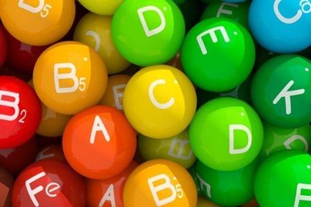 Цветные шарики витамины