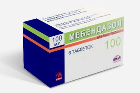 Упаковка препарата от глистов
