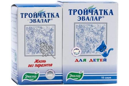 Две упаковки средства