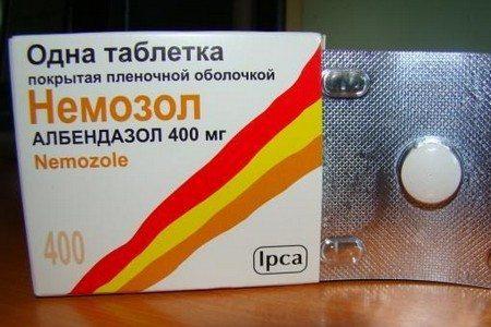 Упаковка средства Немозол