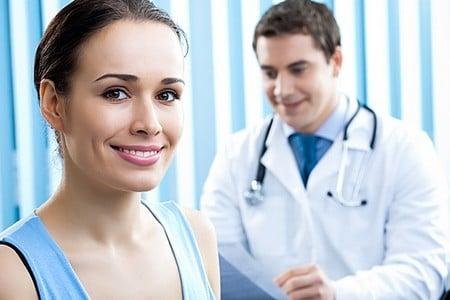 Здоровый человек и доктор