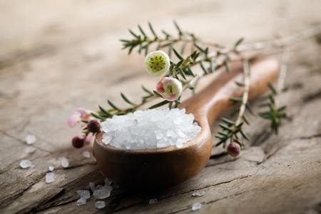 Ложка морской соли
