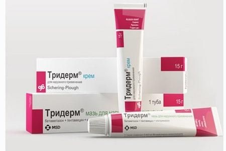 препарат Тридерм