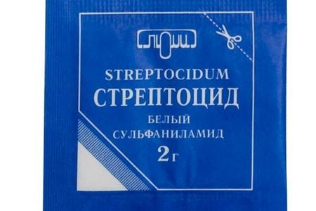 стрептоцид от демодекоза