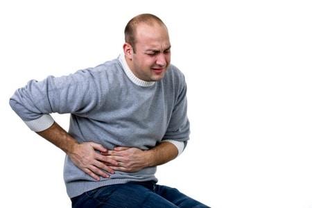 Боль области печени