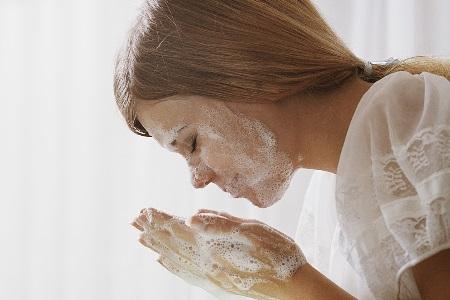 умывания мылом