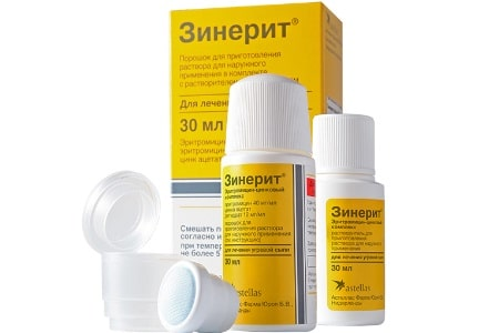 препарат Зинерит