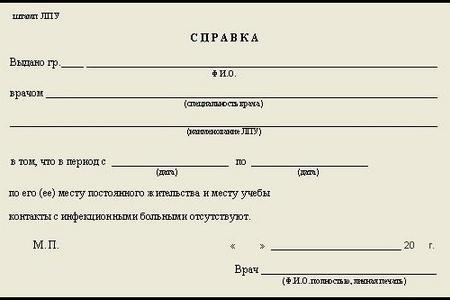 Особенности справки 079 /у для детского лагеря — Евромедклиник