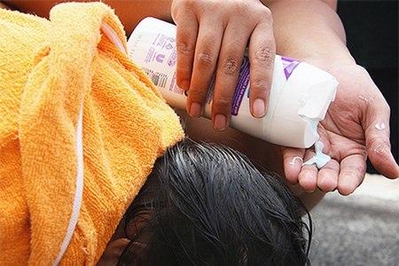 использования шампуня