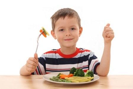 у ребенка диета