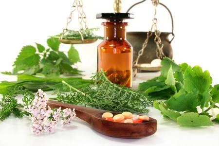 растения и таблетки