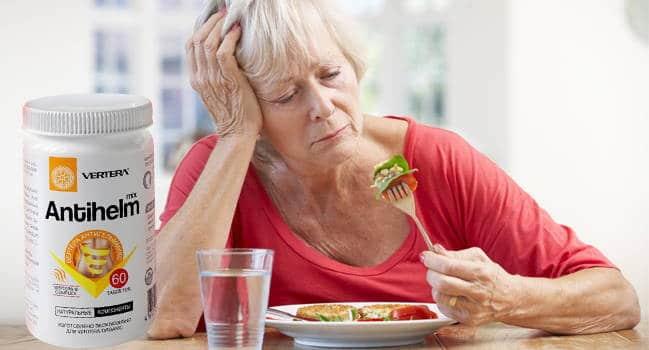 женщина ест без аппетита