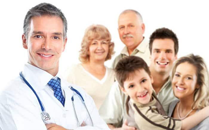врач и большая семья